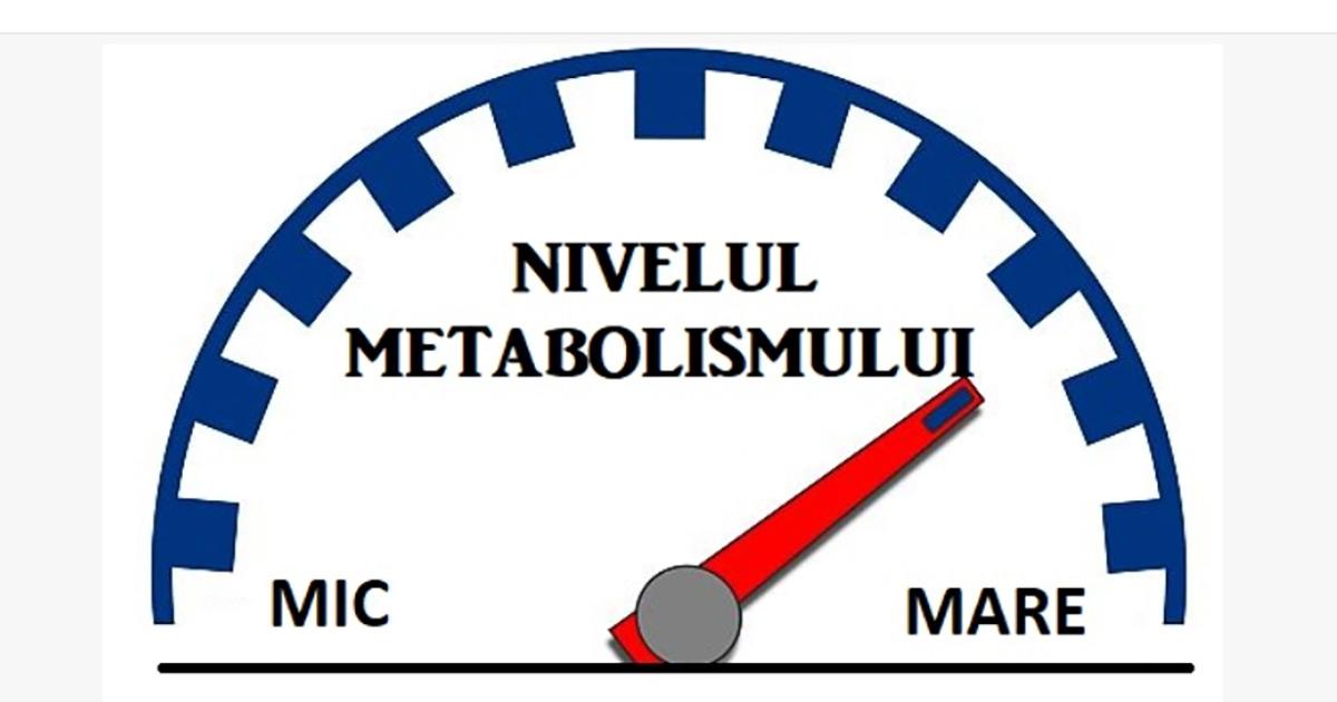 boost metabolismul pentru pierderea de grăsimi